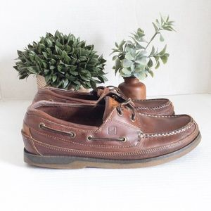 Sperry Top-Sider Leather Boat Shoes Men size 11